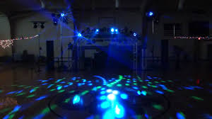 large lighting setup at 8th grade