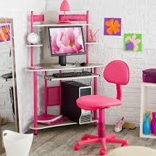 Corner Computer Desk With Hutch by Corner Pink Computer Desk 15 Appealing Pink Computer Desk Picture