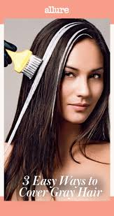 best low lights for white gray hair three easy and low maintenance ways to cover gray hair allure