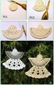 diy crochet christmas ornament free patterns crochet crochet