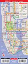 Nyc Subway Map Manhattan by Streetsmart Nyc Mandarin Map Chinese Language Map To New York