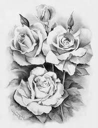pencil drawing rose pencil drawings of roses and hearts pencil