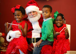 places to visit a black santa claus in indianapolis indy with kids