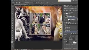 cs6 design how to design wedding album page 1 using adobe photoshop cs6 hd