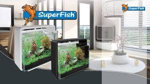 Home Aquarium by Superfish Home 40 Nano Aquarium Youtube