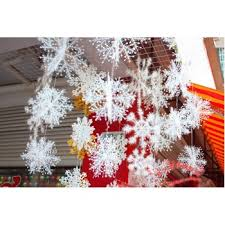 White Christmas Decorations Uk by Decoration White Christmas Hanging Decoration