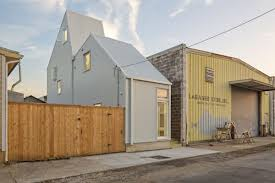 Infill Lot by Small Designer Homes On Odd Lots Offers New Model For Urban