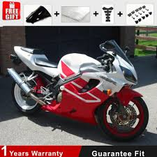 2002 honda cbr 600 injection mold red white plastic fairing kit for honda 01 02 03