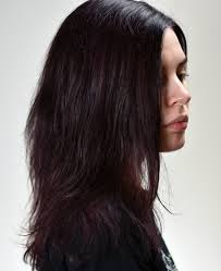 long hair that comes to a point bleaching out dark permanent hair dye and using brightly coloured
