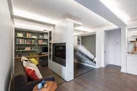 10 Mesmerizing Gifs Of Small Space Living Apartment Therapy by Sliding Wall Is A Good Way To Expend The Space Of A Small Apartment