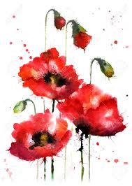 fleur peinture banque d u0027images vecteurs et illustrations libres