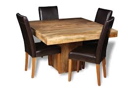 Dining Table And 4 Chairs Light Dakota 120cm Cube Dining Table 4 Barcelona Chairs Trade