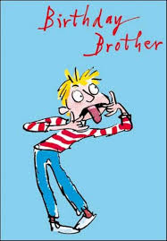 quentin blake brother birthday greeting card cards love kates