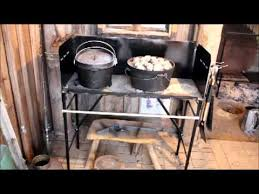 lodge dutch oven table c oven cooking table youtube