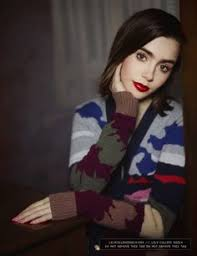 05 karl lagerfeld 665ebarrircollection lily collins gallery