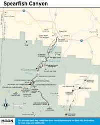 Sd Map Printable Travel Maps Of South Dakota Moon Travel Guides