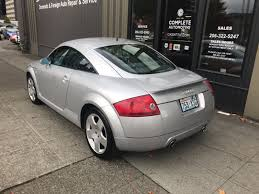 2001 audi tt quattro all wheel drive coupe 225hp 6 spd local 1