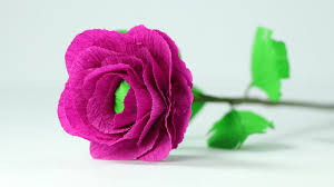 paper flower how to make crepe paper flowers easy step by step diy tutorial