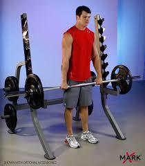 amazon com xmark multi press squat rack with olympic plate