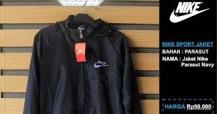 Jual Jaket Nike Parasut jaket parasut nike jaket parasut nike kaskus jaket parasut wanita