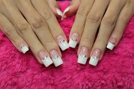 pictures of wedding nail designs