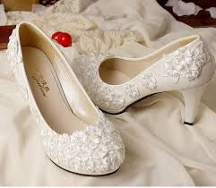 wedding shoes no heel 2017 fashion ivory lace wedding shoes for bridals high low no heel