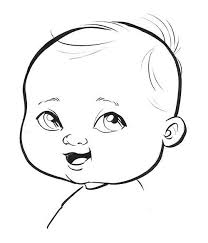 cartoon drawings of babies collection 58