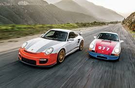 Magnus Walker U0027s 1971 Porsche 911 T 277 Meets The Sharkwerks 2008