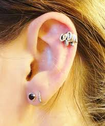 helix earing elephant cartliage earring conch tragus helix piercing on etsy