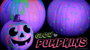 Glow In The Dark Home Decor Glow In The Dark Pumpkin Halloween Diy Easy No Carve Pumpkins