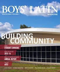 boys u0027 latin magazine winter 2016 by publications boys u0027 latin issuu