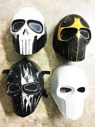 unpainted masks new unique handmade unpaint paintball airsoft bb gun mask us army