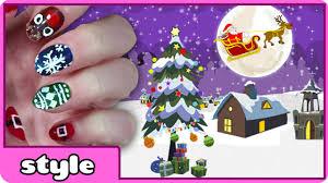 diy christmas nail art collection 2014 cute holiday nail art
