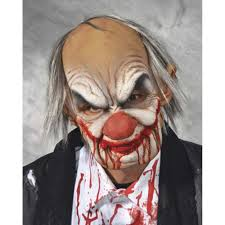 old man mask for halloween super soft smiley clown premium mask accessories