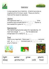 habitats starter ks3 by musarat kabir teaching resources tes