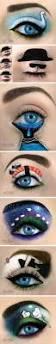 imaginative makeup art u2026 amazing eyes cat colors and makeup