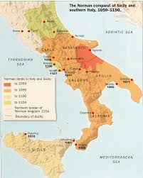 Map Of Southern Italy by Formation Of Italy