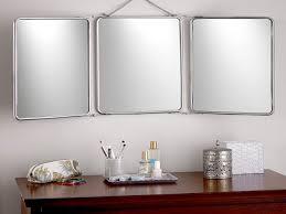 tri fold vanity mirror vanity decoration