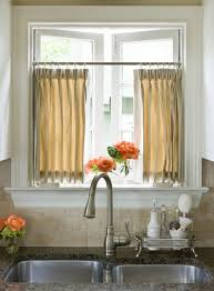Rust Colored Kitchen Curtains Kitchen Curtain Panels Full Size Of Modern Yellow Kitchen