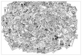 complex stamps unclassifiable coloring pages adults