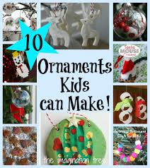 10 christmas ornaments kids can make it u0027s playtime the