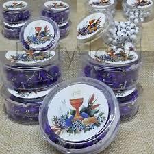 communion favors 12 communion favors rosary purple white wood recuerdos