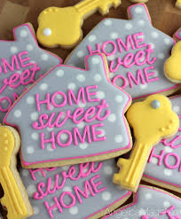housewarming cookies home sweet home house cookies a great and