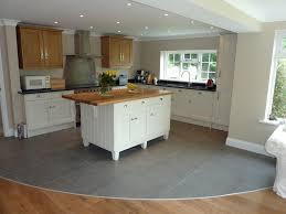 kitchen casual l shaped kitchen layout with island design and