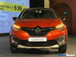 renault captur renault captur price starts at rs 9 99 lakhs motorbeam