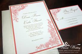 coral quinceanera invitations coral quinceanera invitations