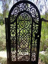 metal gate custom factory direct on sale wrought iron garden