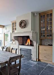 kitchen fireplace ideas kitchen fireplace designs build a fireplace in your kitchen 14jpg