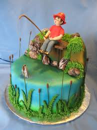 fishing birthday cakes search south