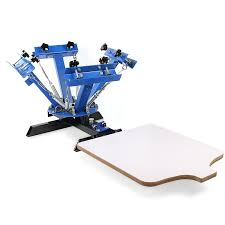 Diy Screen Print India by Amazon Com Screen Printing Press 4 Color 1 Station Industrial